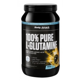 100% Pure L-Glutamine Body Attack 1kg