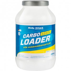 Carbo Loader - Glucides et électrolytes - Body-attack - 2kg