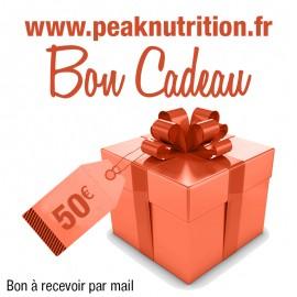 Bon cadeau 50€ - A RECEVOIR PAR MAIL