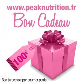 Bon cadeau 100€ - A RECEVOIR PAR COURRIER POSTAL