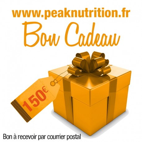 Bon cadeau 150€ - A RECEVOIR PAR COURRIER POSTAL