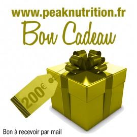 Bon cadeau 200€ - A RECEVOIR PAR MAIL