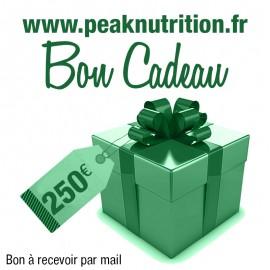 Bon cadeau 250€ - A RECEVOIR PAR MAIL