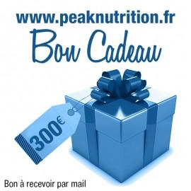 Bon cadeau 300€ - A RECEVOIR PAR MAIL