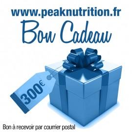 Bon cadeau 300€ - A RECEVOIR PAR COURRIER POSTAL