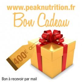 Bon cadeau 400€ - A RECEVOIR PAR MAIL