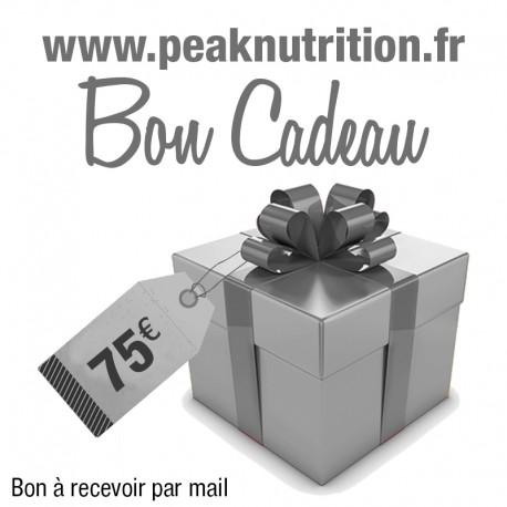 Bon cadeau 50€ - A RECEVOIR PAR COURRIER POSTAL