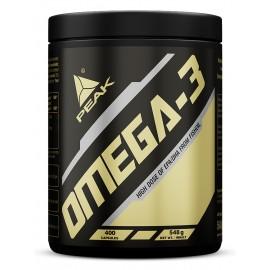 Omega 3 - 400 gélules d'huile de poisson - peak