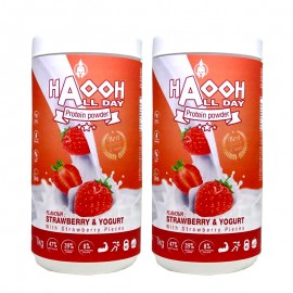 ALL DAY Protéine Fraise - lot de 2