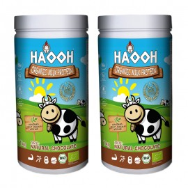 Protéine de lait BIO chocolat - lot de 2