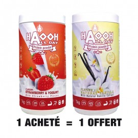 ALL DAY Protéine Fraise + Vanille