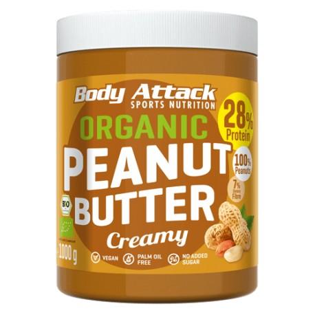 Beurre de cacahuète crémeux- 1kg - body-attack