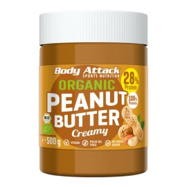 Beurre de cacahuète crémeux BIO - 500g - Body-Attack