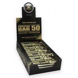 Protein Bar 50 Chocolat noir - Boite de 24 barres