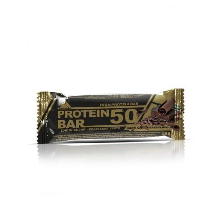 Barre protéine 50 chocolat noir