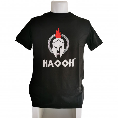 T-Shirt HAOOH - Black