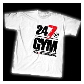 T-shirt 24/7@GYM
