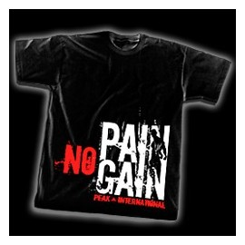 T-shirt NO PAIN NO GAIN