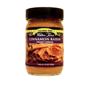 Pâte à tartiner beurre de cacahuète - raisin - cannelle