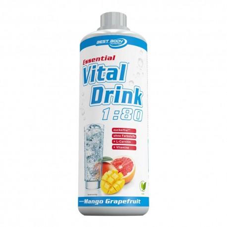 Vital drink boisson sans sucre  à la L carnitine