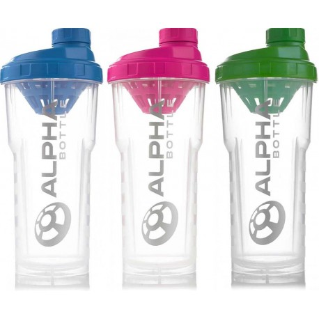 Shaker Alpha Bottle
