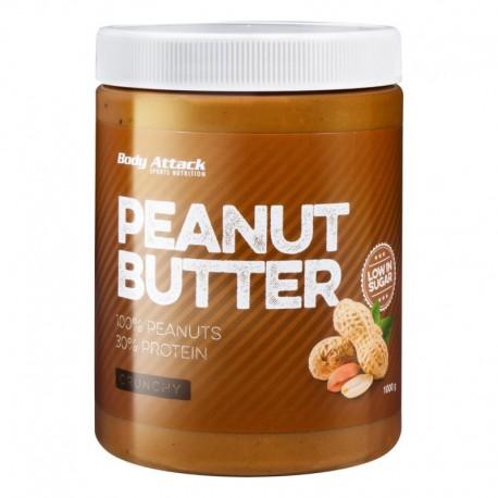 Beurre de cacahuète crunchy - 1kg - body-attack