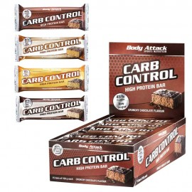 Barre protéinée Carb Control - Body-Attack - 100g