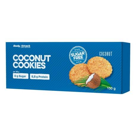 Cookies sans sucre - noix de coco - body-attack