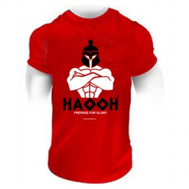 "T-shirt HAOOH ""Prepare for Glory"" - Red"