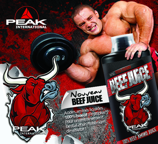 BEEF JUICE ACIDES AMINES PEAK