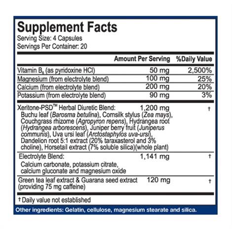 ingrédient de XPEL diurétique naturel