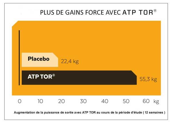 Etude gain de force avec ATP