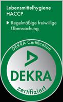 certifie HACCP par dekra