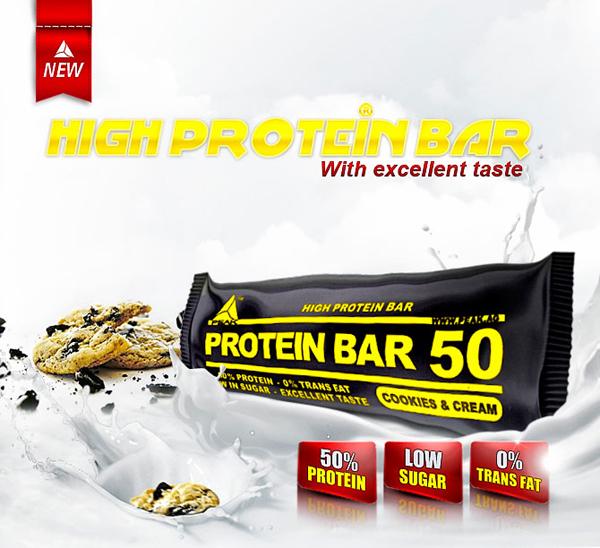 Protein bar 50 peak