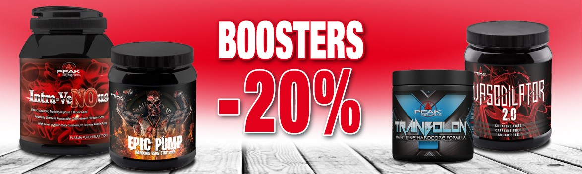 Promos sélection Boosters -20%