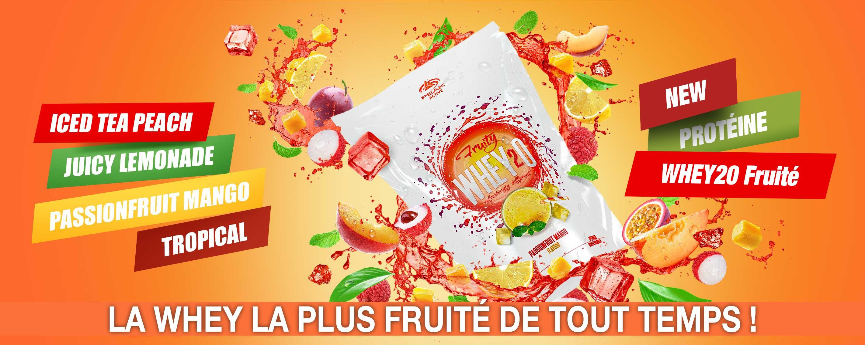 Nouvelle WheyH2O Fruité