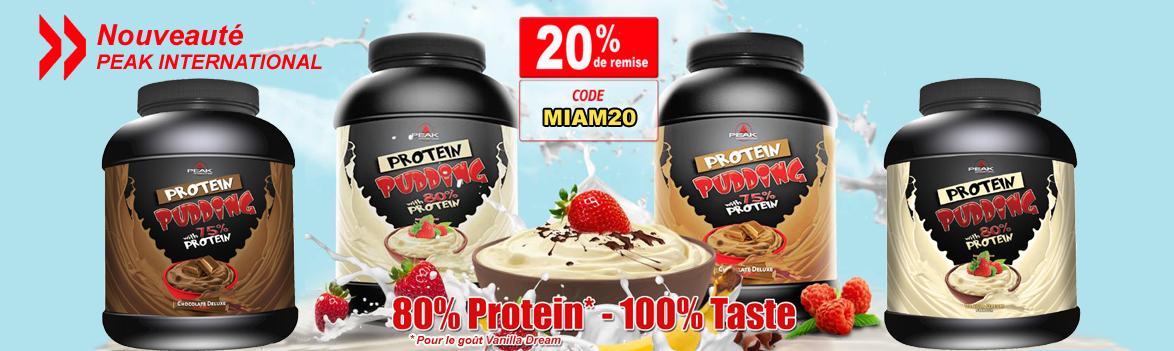 Offre de lancement Protein Pudding