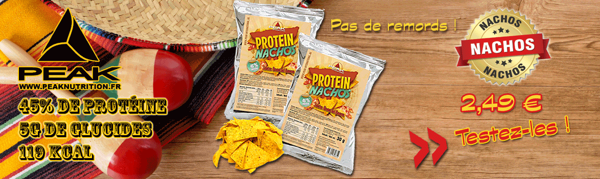Délicieux Nachos protéinés