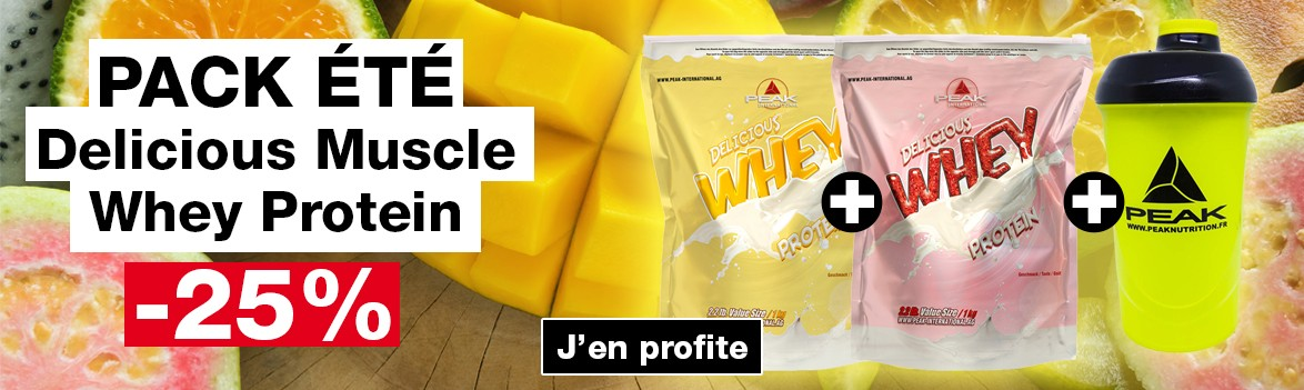 Pack été Delicious Whey Protein -25%