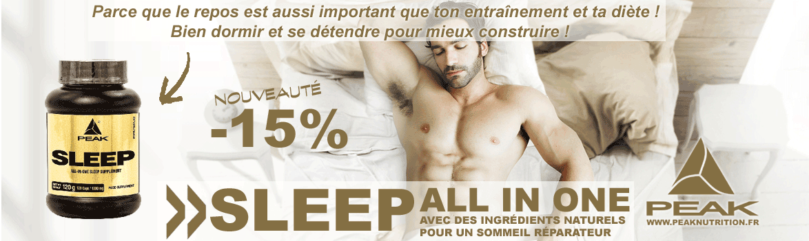 SLEEP le complément pour un bon sommeil réparateur
