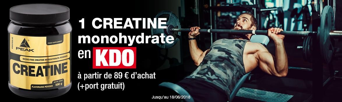 Creatine monohydrate en kdo à partir de 89€ d'achat